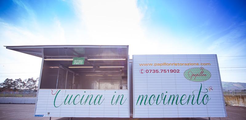 Cucina mobile,Papillon Party,cucine mobili a noleggio ...